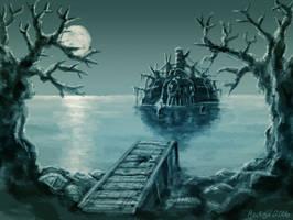 Beneath Waves and Nightmares by hectigo