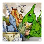 Jurassic Perk by danevilparker