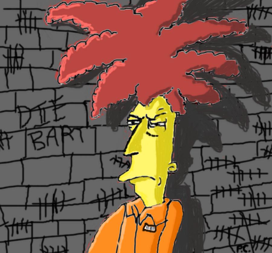 Sideshow Bob In Prison by Biggest-Bob-Fan-Ever
