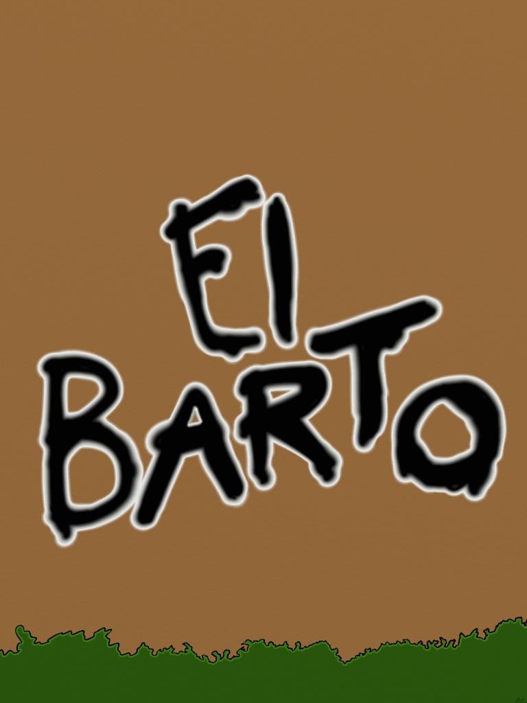 El Barto Graffiti by Biggest-Bob-Fan-Ever