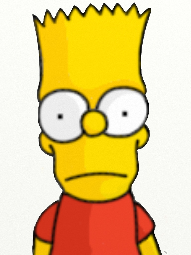 Bart Drawing by Biggest-Bob-Fan-Ever