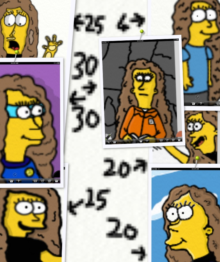 A Few Different Ages Of My Simpson Character by Biggest-Bob-Fan-Ever