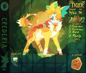 [Crederia] .:Tiger App:. by Pietastic-games