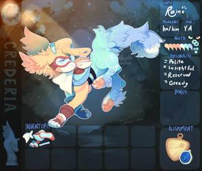 [Crederia] .:Raine App:. by Pietastic-games