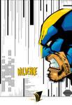 Wolverine poster.