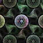 molecular fractal structure