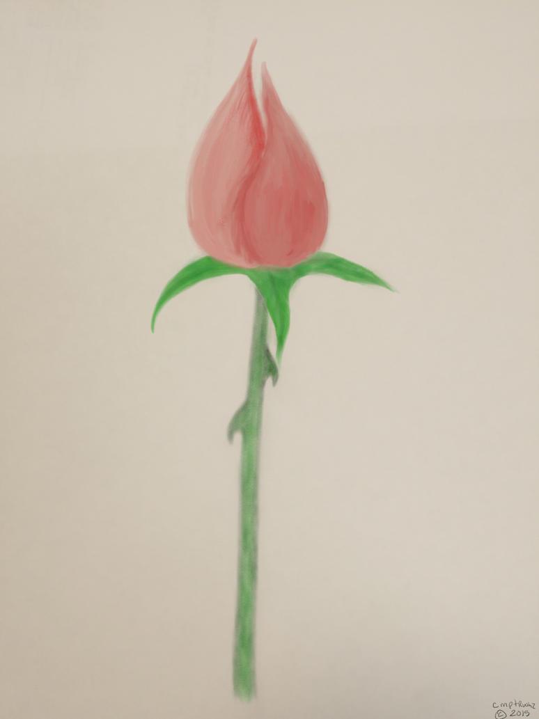 flower by cmptrwhz