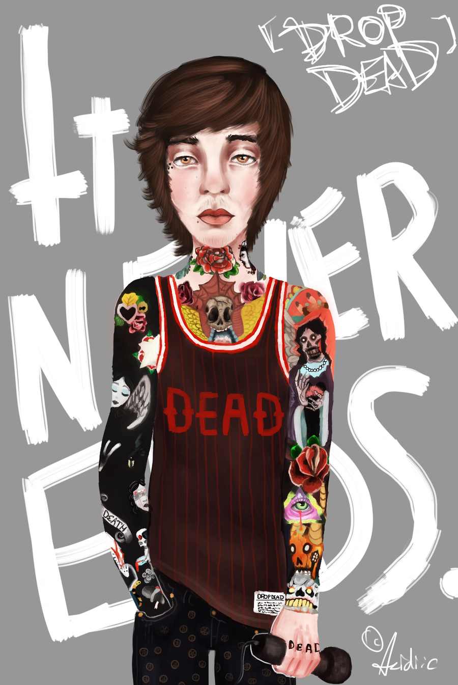 Oli Sykes 2013 Oliver Sykes by...