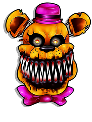 Nightmare Fredbear by Acidiic