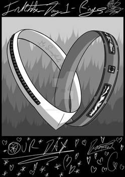 Inktober day 1- detailed rings