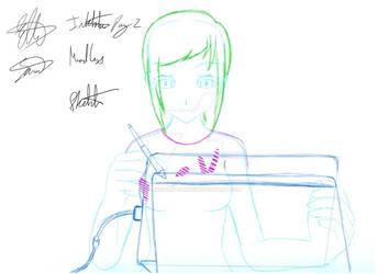 Inktober day 2-sketch