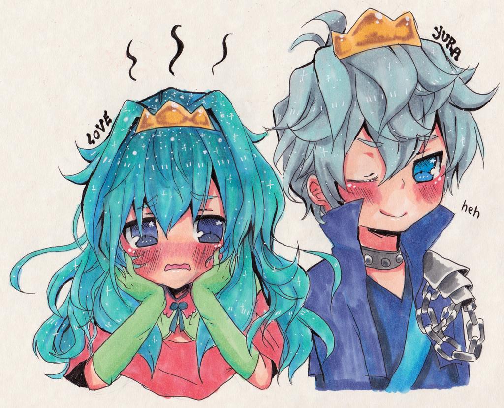 Anime Prince And Princess Love