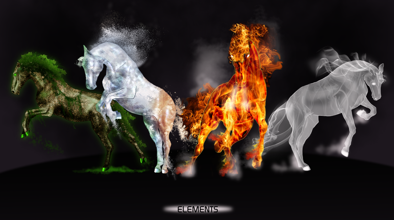 4 Elements  3D and CG amp Abstract Background Wallpapers on