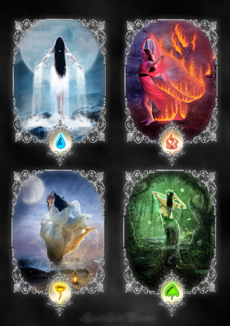 What Are The Six Main Elements Of Art : We are the elements by sweetlittlevampire on deviantart