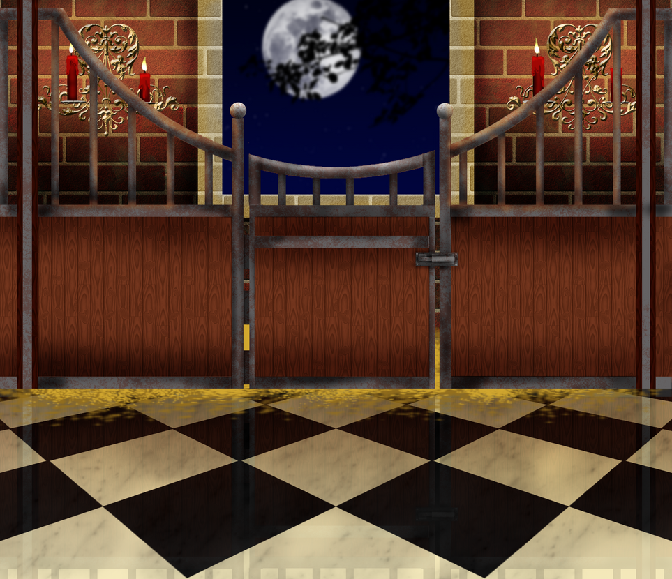 Free Gothic Horse Stalls Background by SweetLittleVampire
