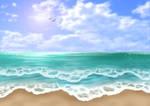 Free Beach Background