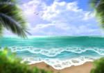 Free Beach Background II