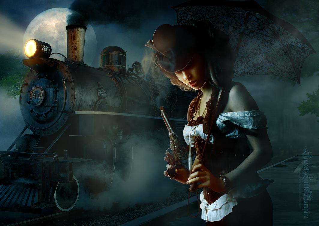 Midnight Train by SweetLittleVampire