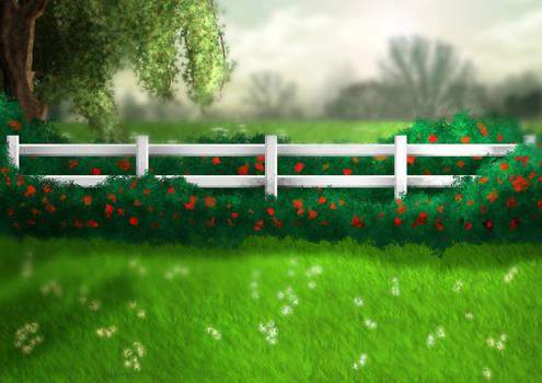 Rose Pasture Background