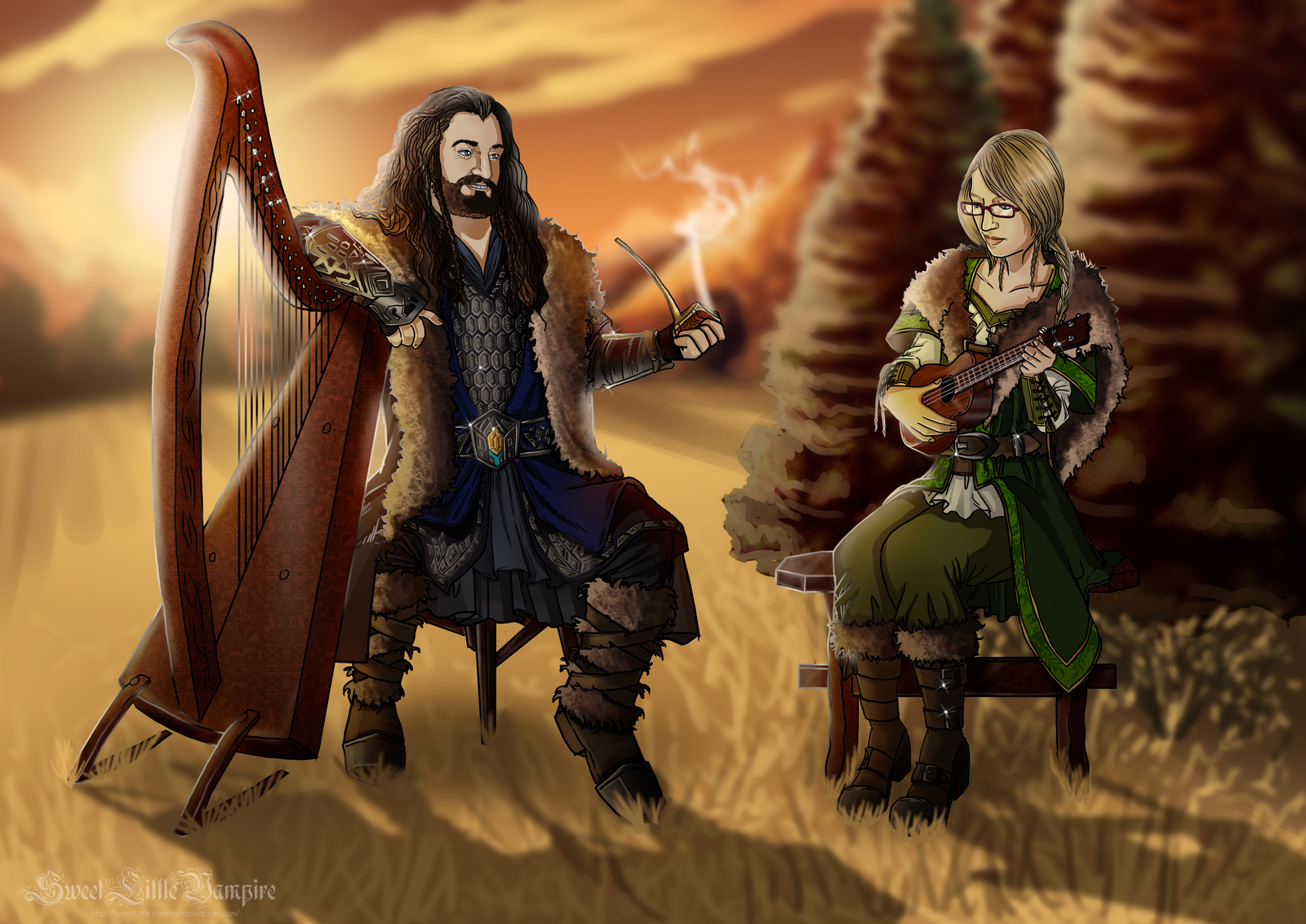 Play Me The Songs Of Your Fathers by SweetLittleVampire