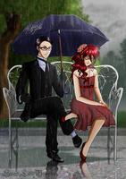 Under My Umbrella by SweetLittleVampire