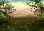 Free Dreamy Dusk Background