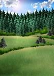 Free Artemis Forest Background