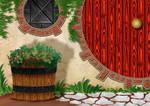 Free Hobbit Hole Background