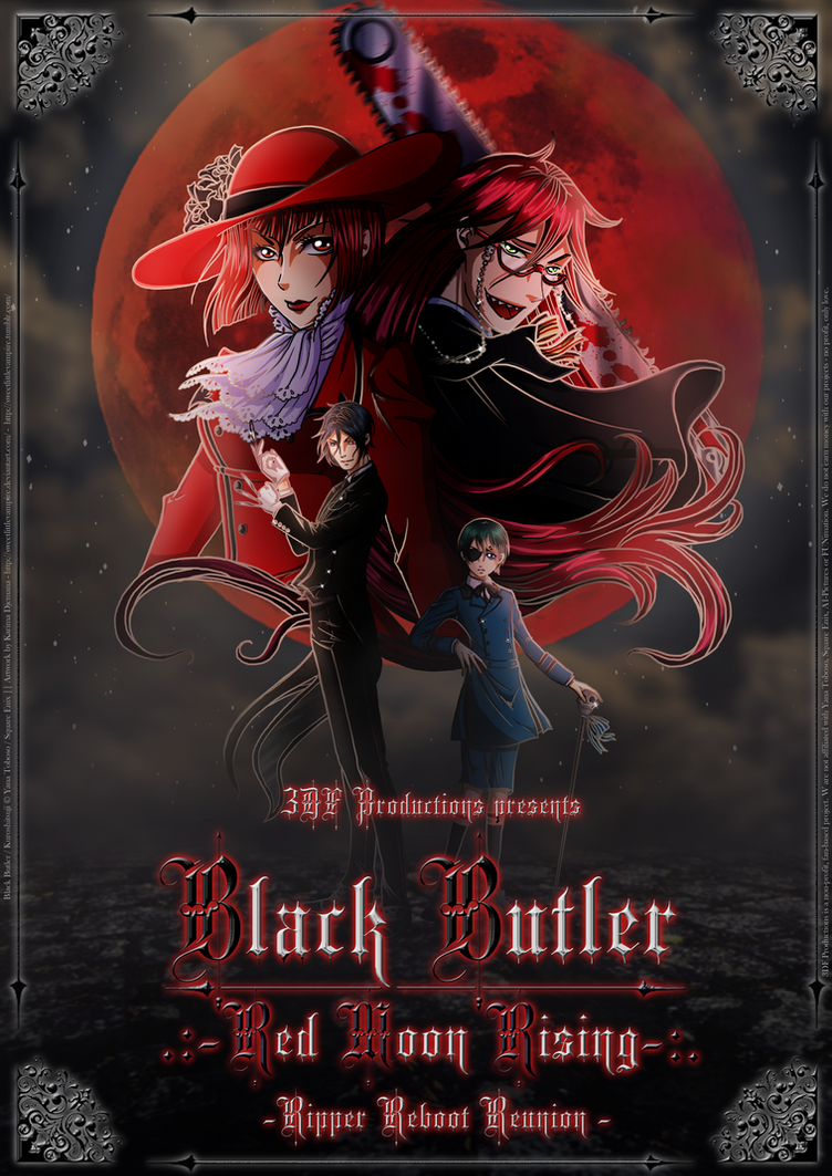 [3DF] Black Butler: Red Moon Rising by SweetLittleVampire
