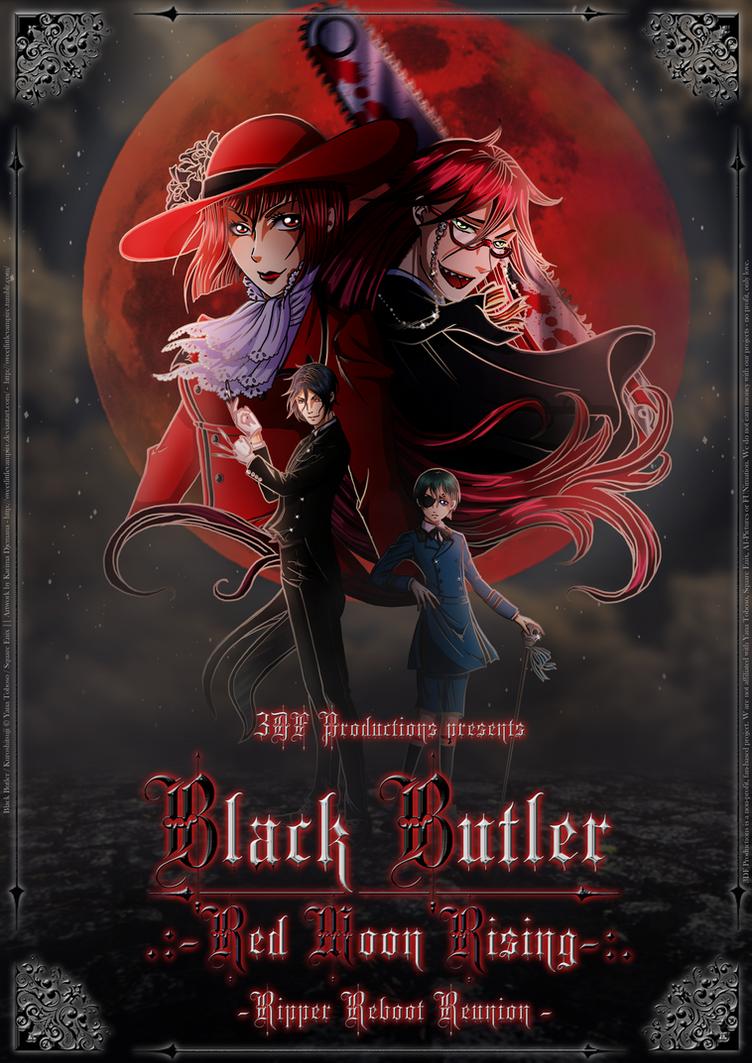 [3DF] Black Butler: Red Moon Rising by SweetLittleVampire