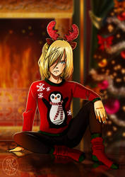 Grumpy Russian Christmas Fairy