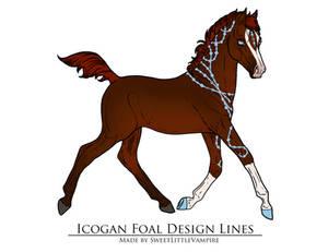 Icogan Foal Design E-42 : Albus