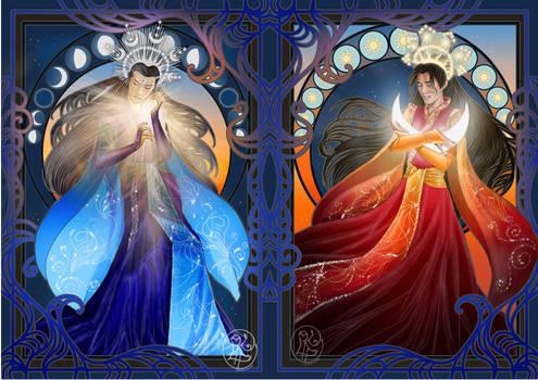 Hanguang Moon  and Wei Sunxian