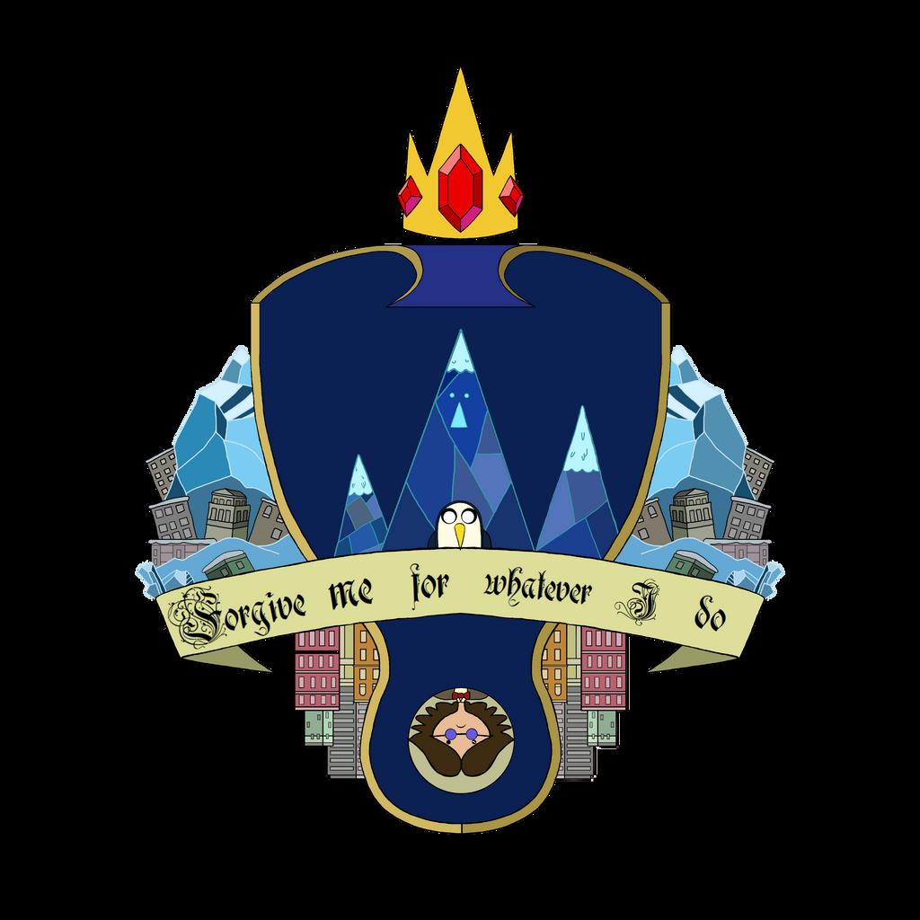 Ice King Heraldic Shield by MrCaputo