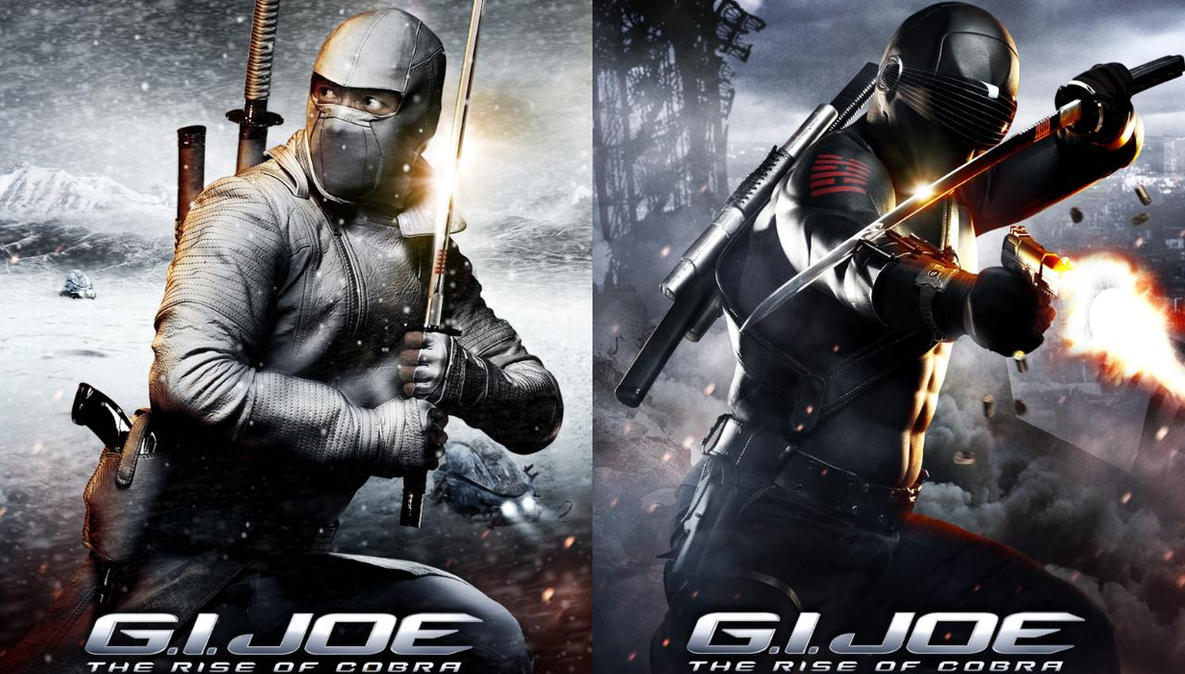 gi joe retaliation snake eyes vs storm shadow