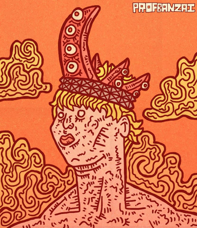 I AM KING. by ProfessorBanzai