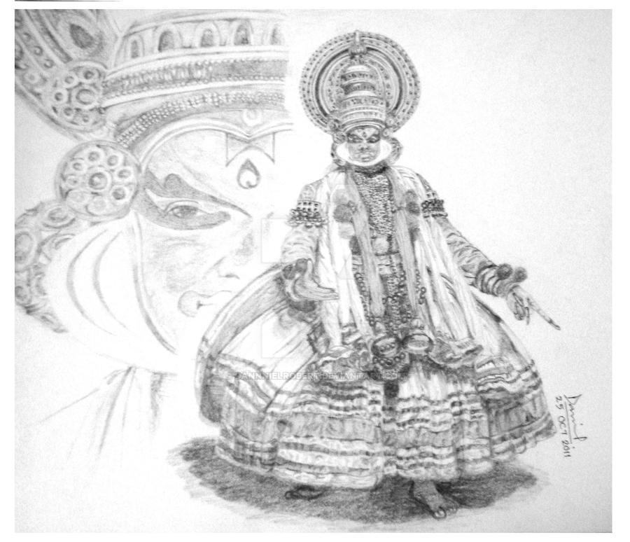 Kathakali Dancer By Dannnielrobert On Deviantart
