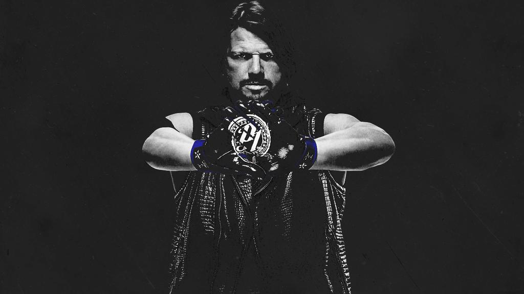 AJ Styles Wallpaper By Emmathium