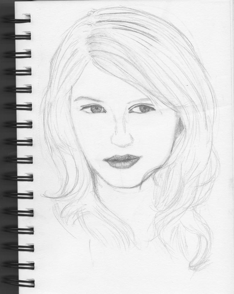 glee Quinn Fabray WIP by