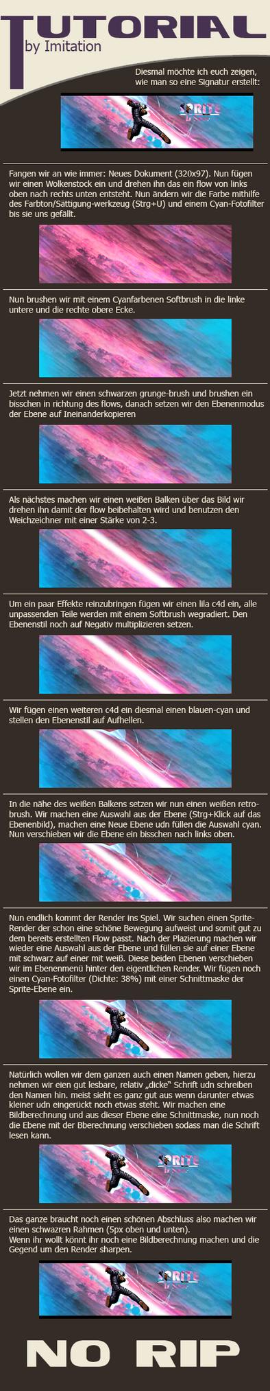 Sprite is here tutorial german by LIROX-Design