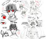 Cladus ref/sketch page