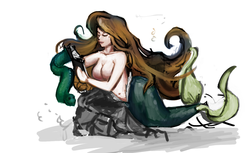 Mermaid Book4 by raychuhll