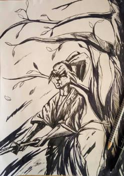Usagi Yojimbo Ink