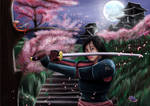 Samurai Mulan by FurkanHolmes