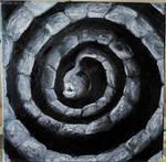 der ewige Schrei - oil on canvas 40x40 by FurkanHolmes