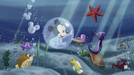 Underwater Dream by FurkanHolmes