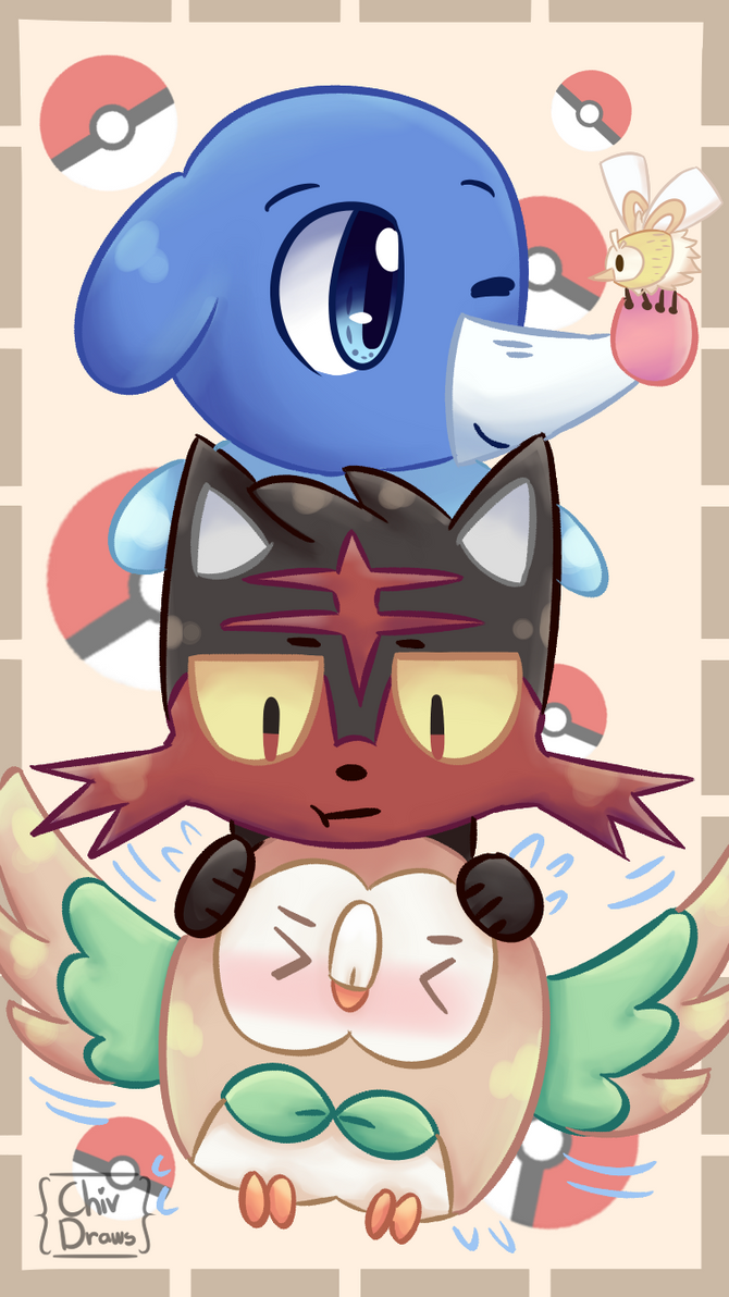 Pokemon Wallpaper by ChivDraws