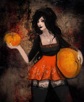 Dear Pumpkin Witch Halloween by Who-Died