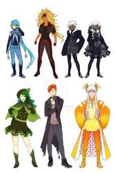 Character Design Sample 01