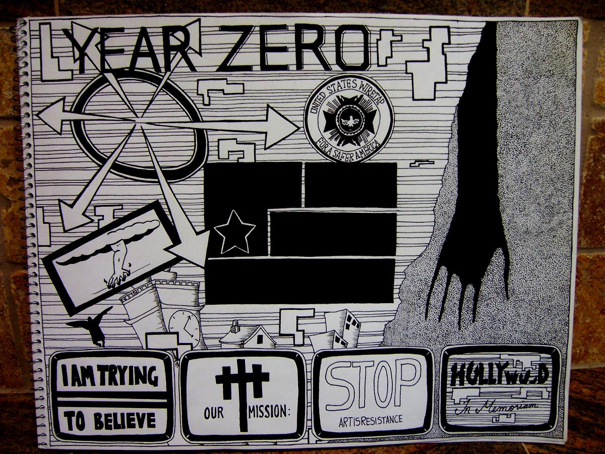 NIN: Year Zero by ArtIsResistance
